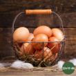 Heti zöldség + tojás kosár