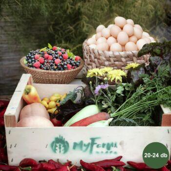Extra Gyümölcs+ Tojás heti kosár - Demjén